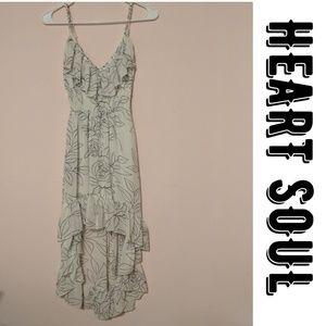 { Heart Soul } Hi Low Mullet Dress